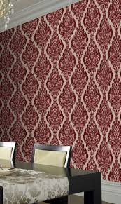 Red Wallpaper Designs For Living Room 17 Best Images About Colour Spotlight Red On Pinterest Scarlet