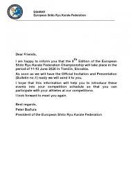 Preface Europeanshitoryukaratefederation