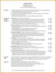 11 Technical Writer Resume Examples G Unitrecors