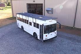 school bus tiny house. Techy Couple Convert School Bus Into Modern Tiny House And Escape The 9-5