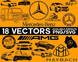 When designing a new logo you can be inspired by the visual logos mercedes logo, home page palm beach classics. Mercedes Benz Svg Etsy