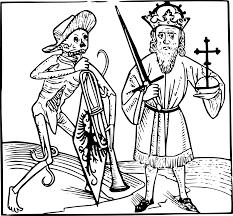 Black Death Plague Coloring Page Sketch