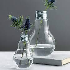 Giant Light Bulb Lamp Lightbulb Vase By London Garden Trading Notonthehighstreetcom