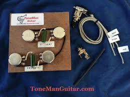 gibson les paul prewired 50s wiring harness long shaft pots gibson les paul prewired 50s wiring harness long shaft pots k42y 2 pio vintage russian tone caps 3 way switch harness