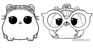 Free Printable Lol Surprise Pets Coloring Pages Projects To Try