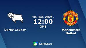 Derby County Manchester United Live Ticker und Live Stream - SofaScore