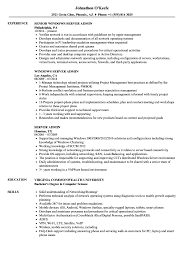 Server Admin Resume Samples Velvet Jobs