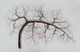 copper wire tree on wire tree sculpture wall art with wire tree art ebay