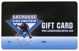 Lacrosse Unlimited E-Gift Card | Lacrosse Unlimited