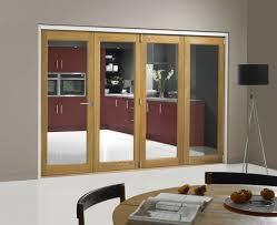 image for jci oak veneer unfinished internal 4 bifold doors room divider 2074mm x 2990mm