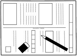 無料イラスト テスト用紙宿題プリント23 受験勉強学習授業