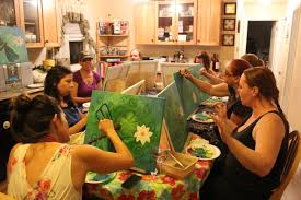 home paint parties kids and s blue hasti art