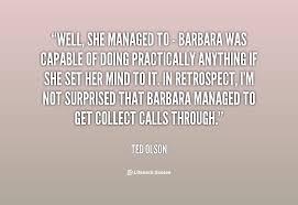 Barbara Olson Quotes. QuotesGram via Relatably.com