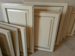 Antique white glazed cabinet doors Recent Work Great Out of