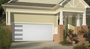flush panel garage doorMundo  Flush Panel Steel Garage Door With Vertical Windows  Lux