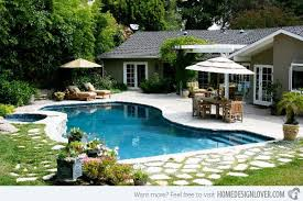 Backyard Designs With Pool Magnificent 48 Amazing Backyard Pool Ideas Home Design Lover