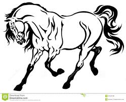 running horses black and white. Fine White Running Horse Black White On Horses Black And White N