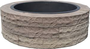 Block Fire Pit Kit Evolve Composites Rebounds Cold Temp Sales Trend With Hot New Fire