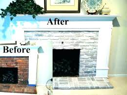 new white brick fireplace for pictures of painted brick fireplaces white brick fireplace brick fireplace surround