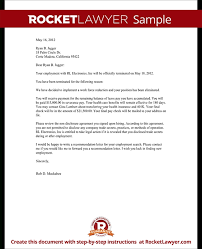Severance Letter Template Severance Agreement Template Microsoft ...