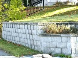 concrete block retaining wall building a garden wall building garden retaining walls building a garden wall with concrete blocks walls cinder block