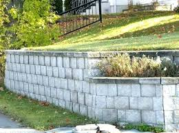 concrete block retaining wall building a garden wall building garden retaining walls building a garden wall with concrete blocks walls cinder block