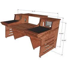 sound construction api 1608 1 2 straight desk maple