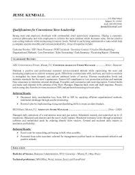 Grocery Store Manager Resume Example Examples Of Resumes