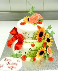 Happy Birthday Cake And Flowers Images The Cake Boutique