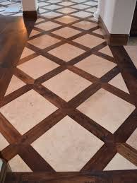 Wood Tile Floor Patterns Mesmerizing Basketweave Tile And Wood Floor Design Pictures Remodel Decor And