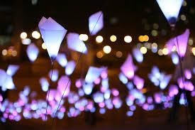 fantastic lighting. fantastic lighting installation at tribeca film festival t