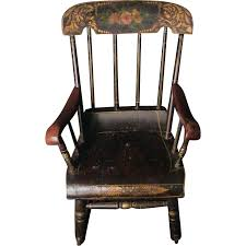old wooden rocking chair value designs