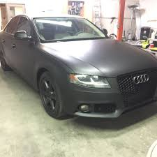 matte black audi a4. bay area central valley trivalley southern california u0026 las vegas car wrap service for a quote on your vehicle email us now infoomgwrapscom matte black audi a4