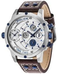 police mens adder multi function watch 14536js 04 police 14536js 04