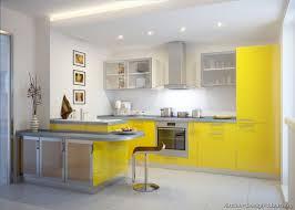 kitchen cabinets modern yellow modern interior seating stoolpeninsula seating glass doors small