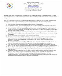 Example Of Admission Essays Admission Essay Writing 6 6 Tips For Writing A Good College