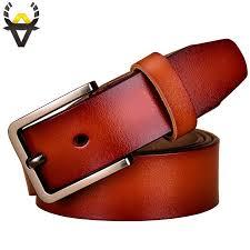 fashion genuine leather belts for women luxury designer