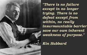 Quotes by Kin Hubbard @ Like Success via Relatably.com