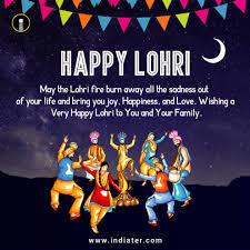 Free Download Greeting Card Lohri Festival Wishes Greeting Card Free Download Psd Indiater