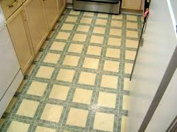 here s an example of vinyl flooring from yesteryear