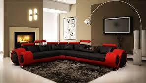 black leather corner sofa modern nova red and black leather corner sofa left hand
