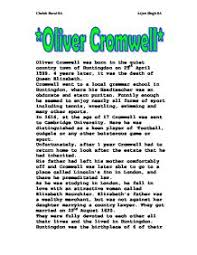 oliver cromwell hero or villain essay oliver cromwell hero or  interpretations of cromwell s actions at drogheda explain how oliver cromwell