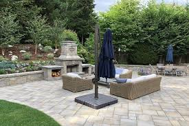 imagine enjoying a night under the stars in front of your own outdoor fireplace as an area to relax or for guests to warm up during a get together
