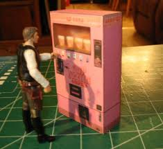 Cup Of Noodles Vending Machine Interesting PAPERMAU The Cup Noodles Vending Machine Assembled By Jason Buck
