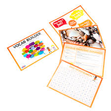vocab cards with pictures buy vocabulary builder activity cards tts international