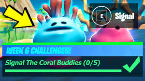 Signal The Coral Buddies - Fortnite ...