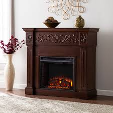 Harper Blvd Wellington Espresso Electric Fireplace - Free Shipping Today -  Overstock.com - 13187962