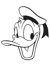 Small Picture Donald Duck Picture Portrait Coloring Page H M Coloring Pages