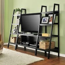furniture ladder shelves. altra furniture ladder tv stand shelves