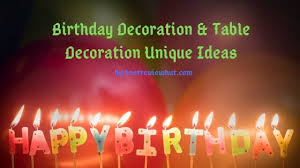 21 birthday decoration ideas for home